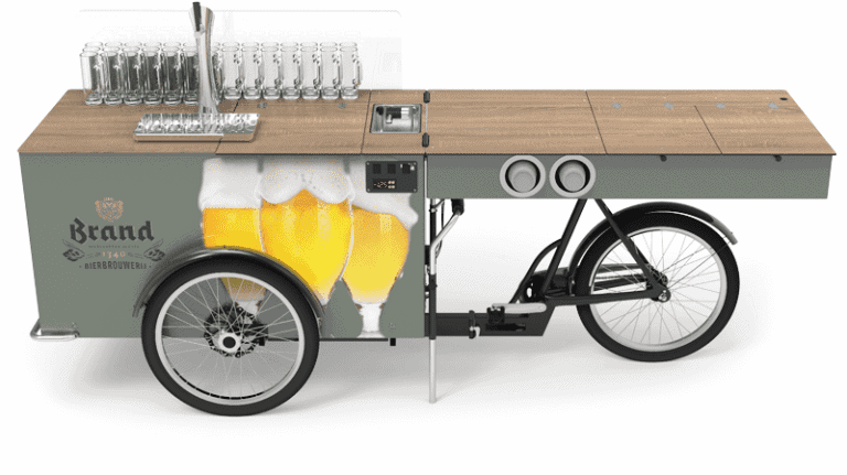 Beverage Bike or Mobile Bar for Beer