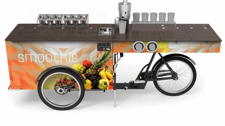 Beverage Bike or Mobile Bar for smoothies